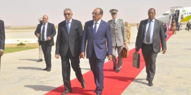 رئيس الجمهورية يعود إلى نواكشوط قادما من باريس