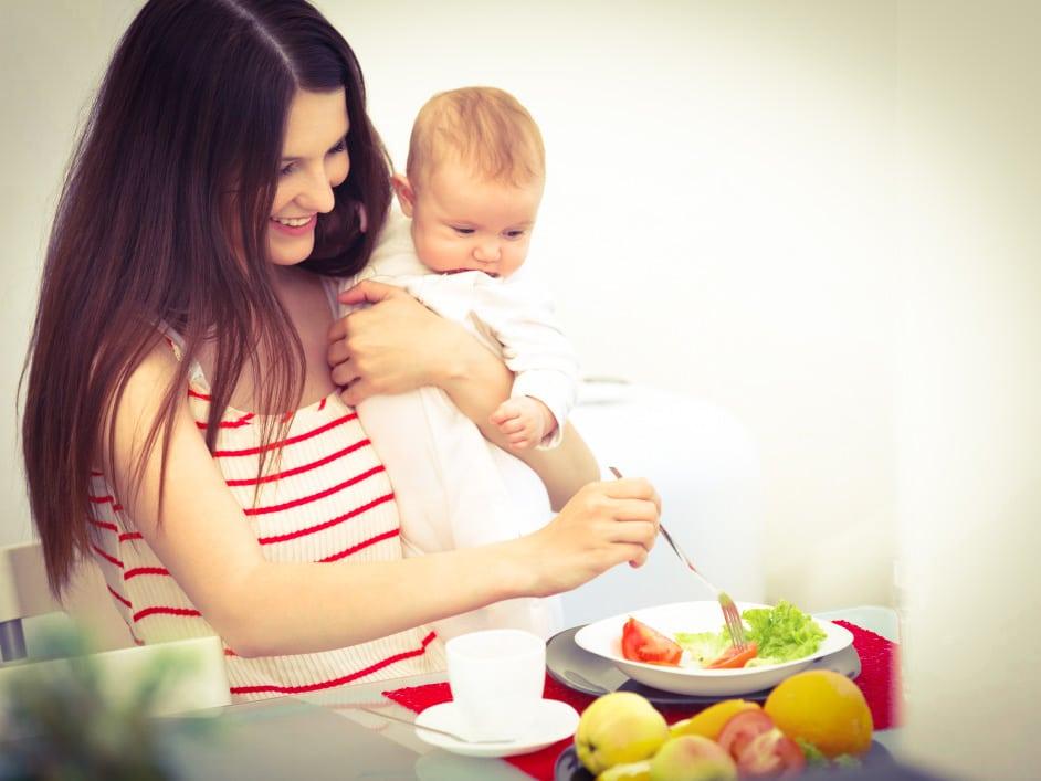 Как похудеть при грудном вскармливании: диета, физические