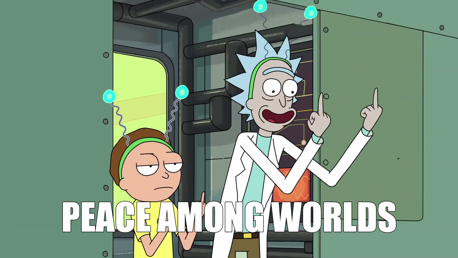 Rick And Morty Quote Wallpaper Tv Quotes Peace Among Worlds Tv Quotes