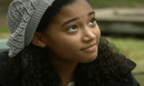 Amandla Stenberg as Macey Irving in Sleepy Hollow