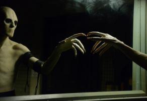 Marti Matulis as the Sandman on Sleepy Hollow.
