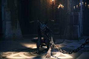 The Wendigo (Marti Matulis) is in chains on Sleepy Hollow.