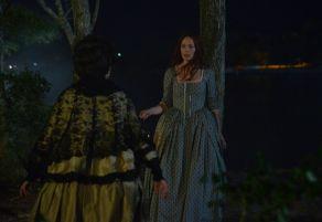 Mary Wells confronts Katrina on Sleepy Hollow