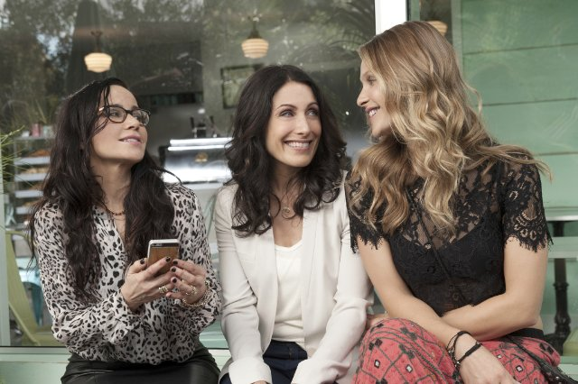 "Janeane Gorofalo , Lisa Edelstein and Beau Garrett appear in new Bravo series ""Girlfriends' Guide to Divorce."""