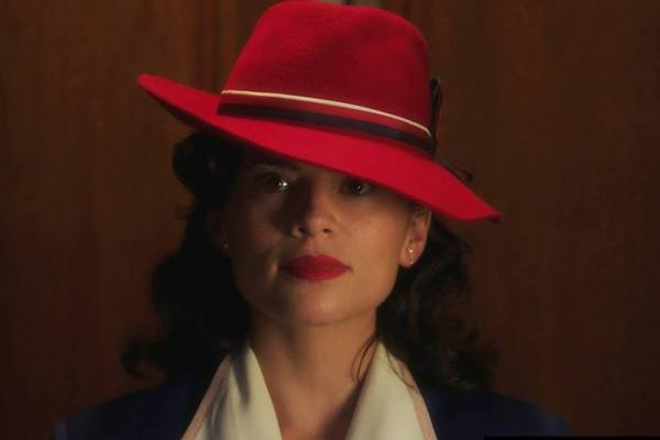Hayley Atwell as Pegy Carter in ABC's Agent Carter