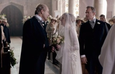 Lady Edith gets dumped at the altar on Downton Abbey