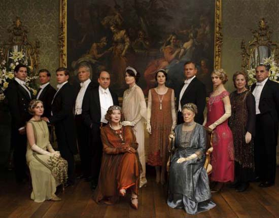 Downton Abbey Cast Season Four Christmas Episode