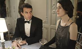 Lord Gillingham has his eye on Lady Mary on Downton Abbey.