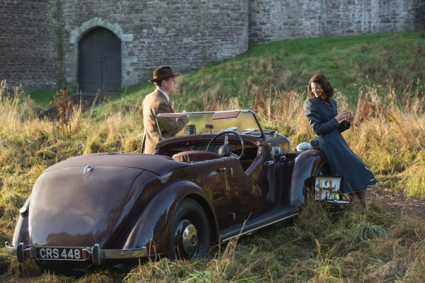 Claire and Frank in Outlander