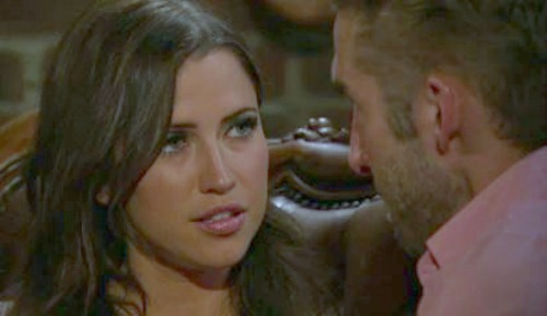 Kaitlyn talks to Shawn on The Bachelorette