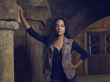 Lyndie Greenwood as Jenny Mills for Sleepy Hollow S3 promo