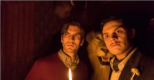 John Lowe and James March on AHS Hotel