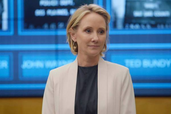 Anne Heche on Quantico