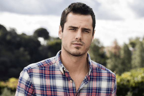 The Bachelor Ben Higgins outdoors
