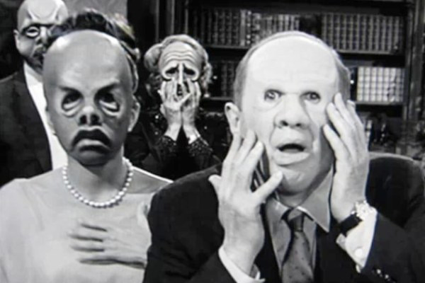 The Masks on The Twilight Zone