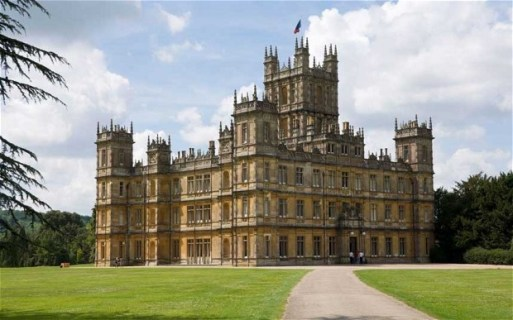 Downton Abbey house