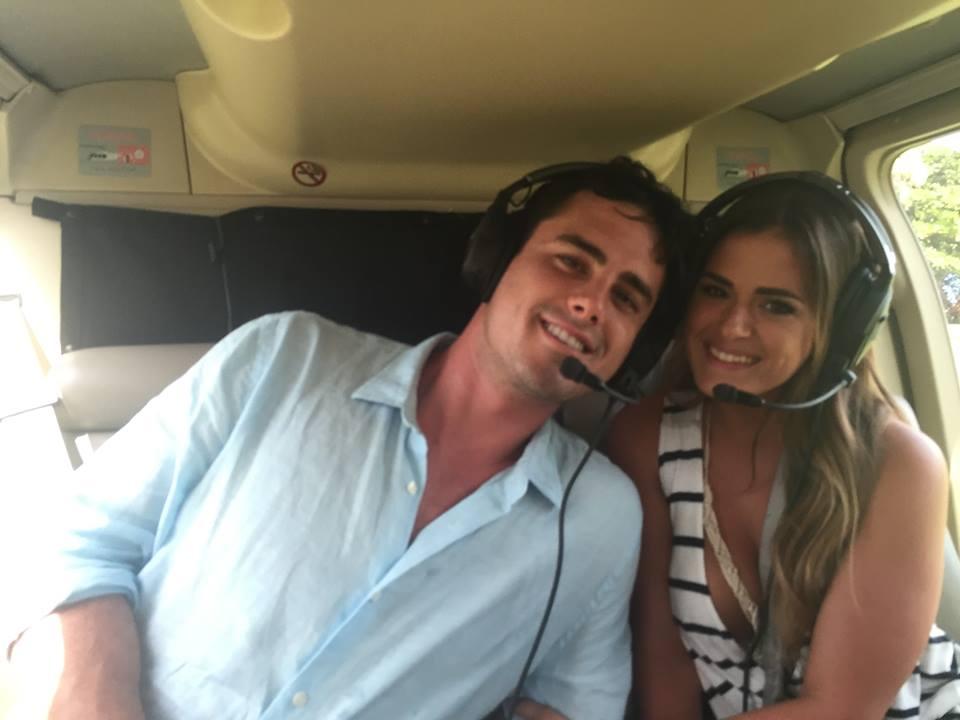 Ben Higgins Takes JoJo Fletcher On A Plane Ride In The Bachelor