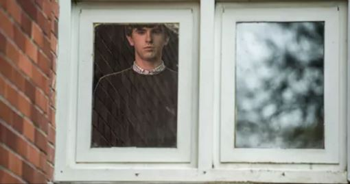 Freddie Highmore as Norman Bates on Bates Motel, 'Til Death Do You Part episode