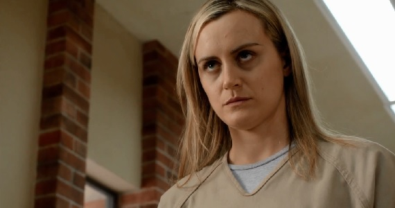 Taylor Schilling as Piper on Orange is the New Black