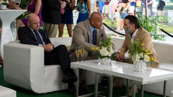 ballers -Dwayne Johnson, Rob Corddry and Andy Garcia