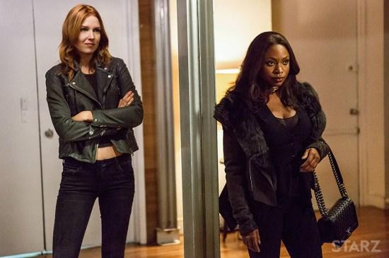 Holly and Tasha on Power