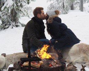 Nick and Vanessa in Finland on The Bachelor