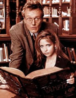 Giles and Buffy the Vampire Slayer