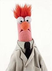 Beaker on Muppet Show