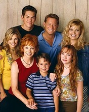 The cast of Reba, that may have been cancelled