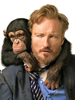 Conan with monkey