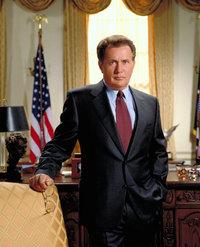 Martin Sheen as President Josiah 'Jed' Bartlet