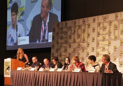 Merlin panel at Comic Con, season five