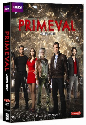 Primeval seasons four and five on DVD