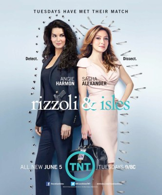 rizzoli and isles tv ratings for TNT