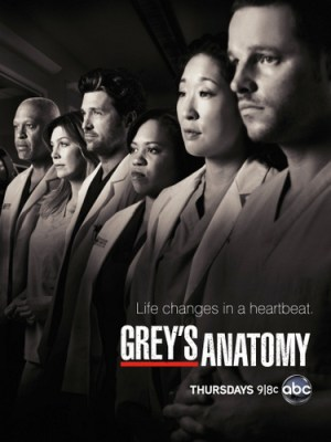 ABC TV show greys anatomy - ratings
