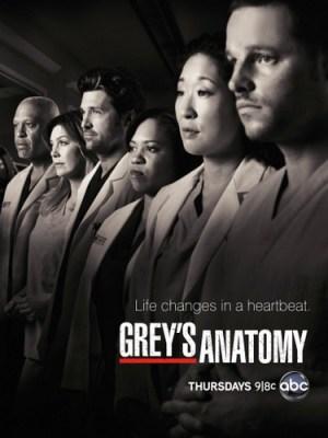 ABC TV show greys anatomy - ratings
