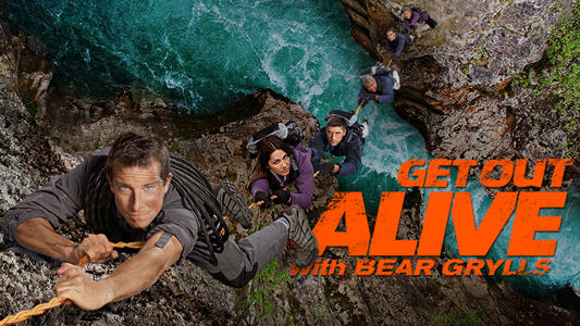 get out alive with Bearl Grylls