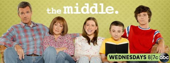 The Middle season five ratings