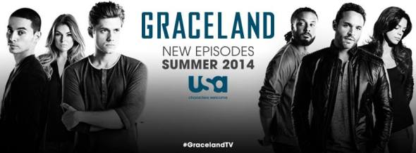 Graceland TV show on USA: latest ratings