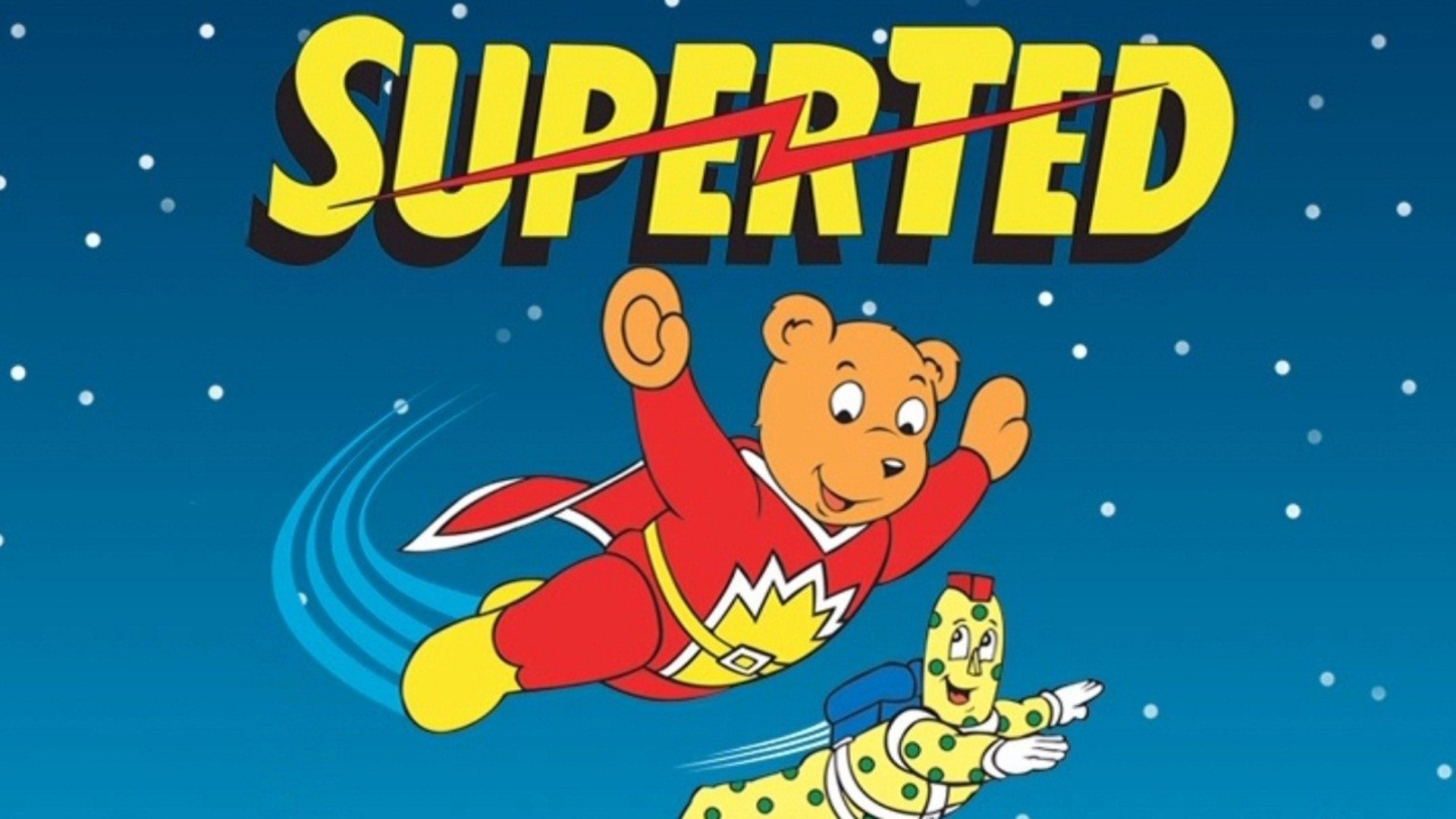 Animated Bear Wallpaper Superted Animated Series Reportedly Being Revived
