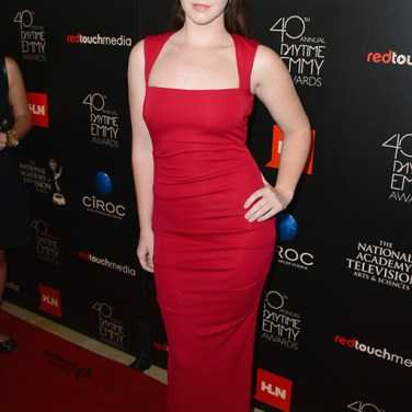 Actress Camryn Grimes (The Young and the Restless) attends The 40th Annual Daytime Emmy Awards at The Beverly Hilton Hotel on June 16, 2013 in Beverly Hills, California. - Source: Mark Davis/Getty Images North America