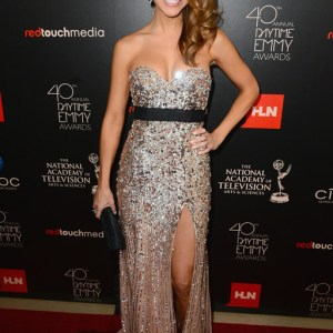 Actress Chrishell Stause (Days of our Lives) attends The 40th Annual Daytime Emmy Awards at The Beverly Hilton Hotel on June 16, 2013 in Beverly Hills, California. - Source: Mark Davis/Getty Images North America