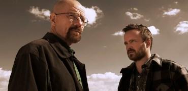 Walter White (Bryan Cranston) and Jesse Pinkman (Aaron Paul) - Breaking Bad _ Season 5B _ Gallery - Photo Credit: Frank Ockenfels 3/AMC