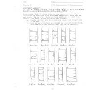 Measuring Cylinder Worksheet