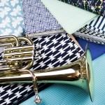 Blaues Stoffglück für's Wochenende bei Käthe Meier