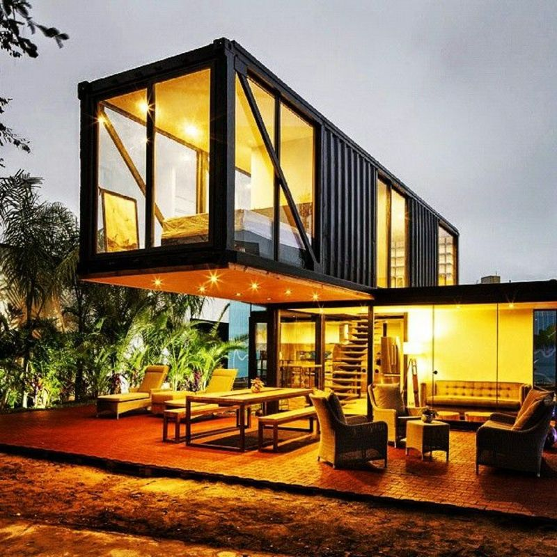 Container House Build In Spain