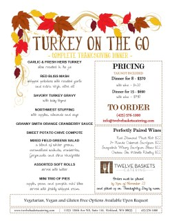 Horrible Categoriescorporate Events Turkey On Go Complete Thanksgiving Dinner From Twelve Baskets Prepared Thanksgiving Dinners Los Angeles Prepared Thanksgiving Dinners Costco