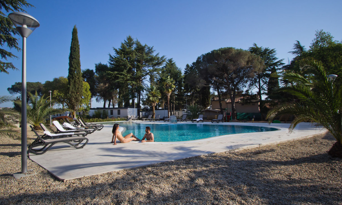 Campings Istrie Met Zwembad Boutique Camp Materada Beach | Istrië | Kroatië | Allcamps