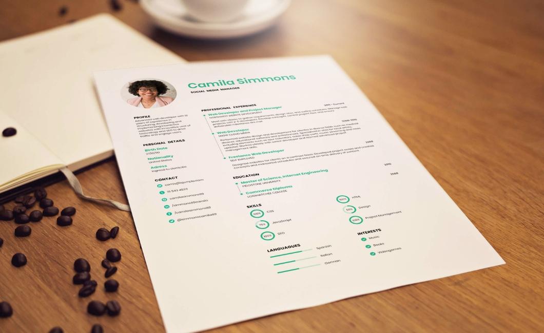 Create a striking resume for free courtesy of ResumeMakerOnline