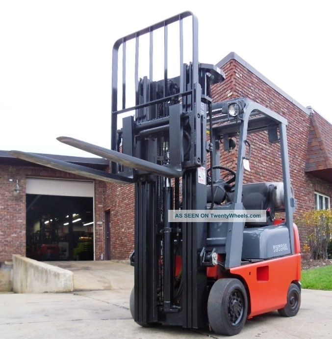 Forklift2006 Toyota 7fgcu15 Cushion Tires Lpg 3936